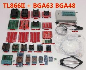 Image 5 - 100% ORIGINAL V8.3 TL866II PLUS programmeur + IC clip TSOP48 SOP28 haute vitesse AVR MCU Flash EPROM programmeur remplacer TL866A/CS