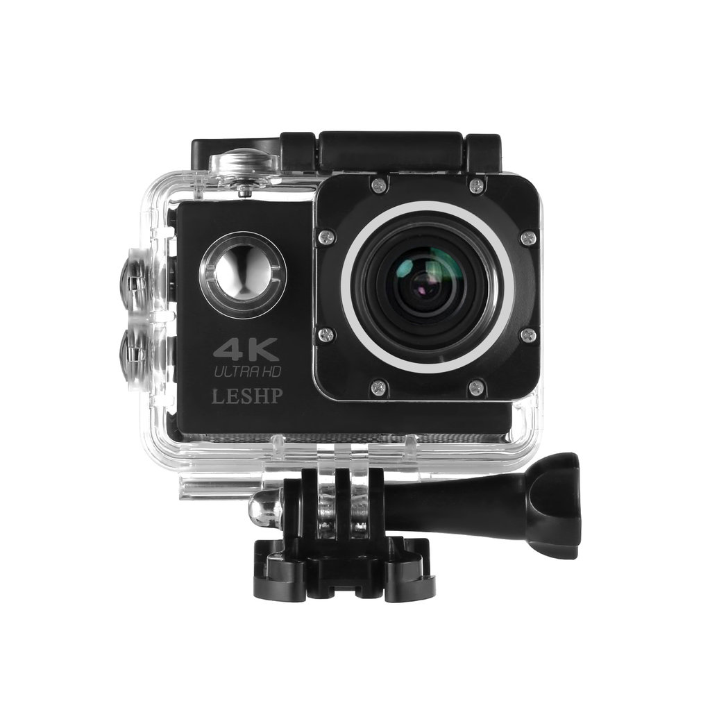 LESHP Ultra HD 4K Sport Action Camera WIFI 1080P 16MP+ 170 Degree Angle Waterproof DV Camcorder FOR Outdoor Sports image