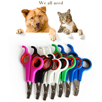 New Pet Grooming Nail Clipper Claw Cutter Trimmer Nail Cutting Scissor for Animals Professional Cat Dog Nail Clipper Cutter Cat Grooming