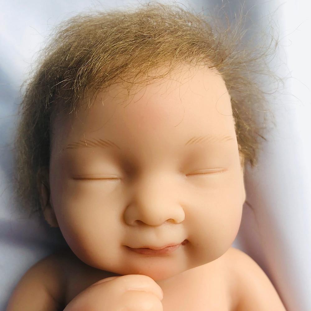 Oyuncaklar ve Hobi Ürünleri'ten Bebekler'de OtardDoll 10 inç Reborn bebek bebek 25cm Tam Silikon Reborn bebekler gerçekçi Bonecas Sevimli oyuncak doğum günü hediyesi'da  Grup 3