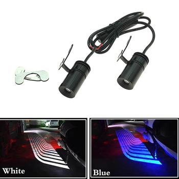 Cool Deco Universal Motorcycle Ghost Angel Wings Led Laser Light Car Led Door Warning Light Welcome Light Shadow Light Projector 2pcs car angel wings led welcome carpet light white red blue green crystal blue door light wings of dream car fit all cars