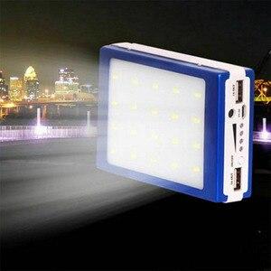 Image 5 - 5v/1a, 2a עיצוב הכפול נייד usb led אור 5 תא 18650 שמש סוללה מטען תיבת diy כוח בנק סגסוגת ערכת אביזרי תיבה