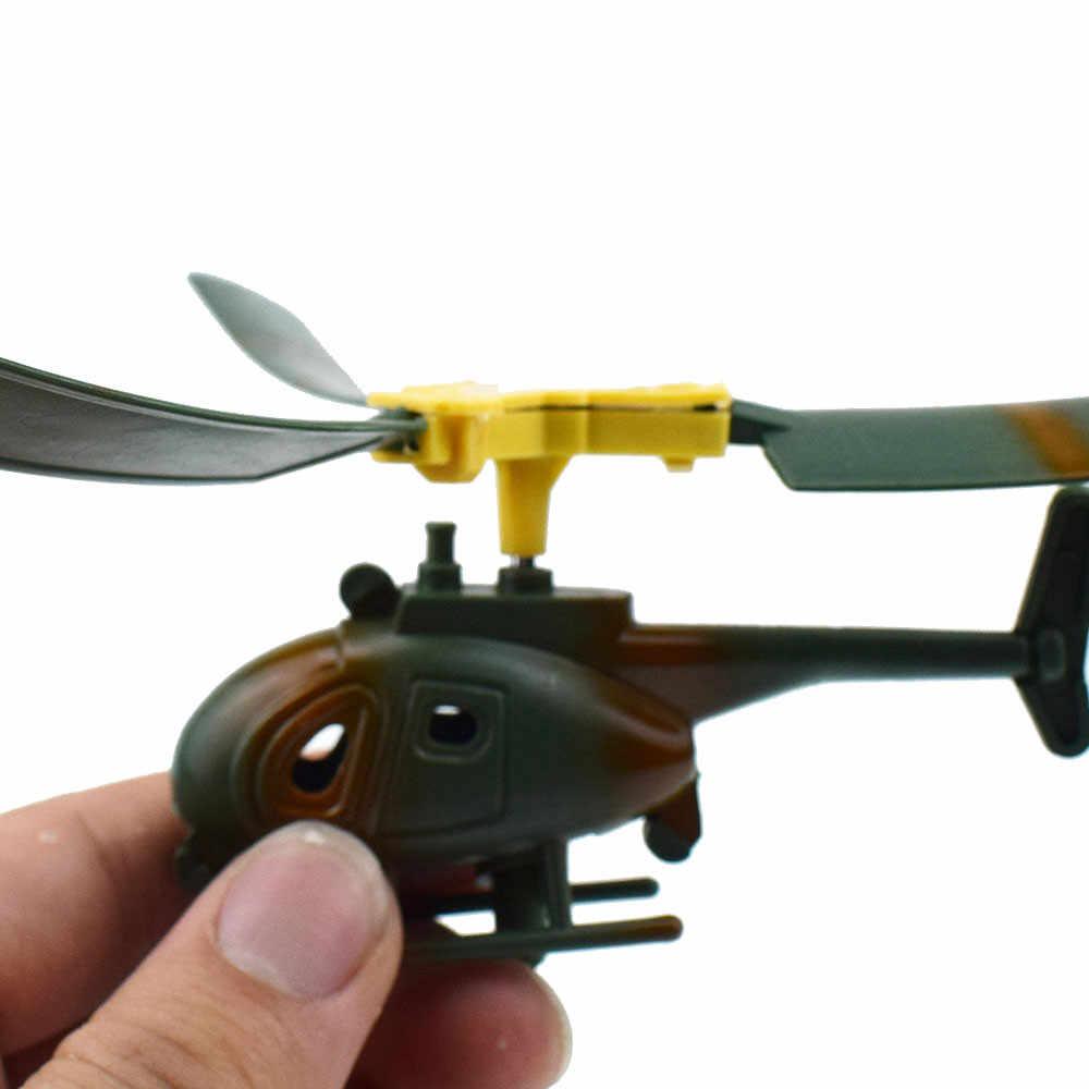 15*10*10 Cm Unisex Anak Perempuan Anak Laki-laki Helikopter Plastik Kendaraan Lucu Anak-anak Outdoor Mainan Drone Hari Anak hadiah untuk Pemula Dropship