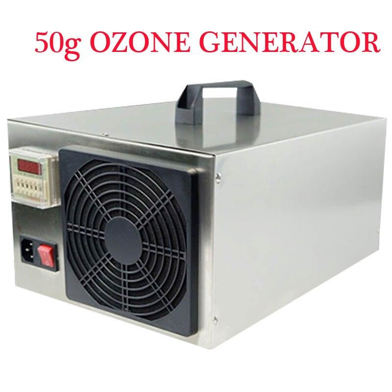 50g Ozone Generator Air Purifier Air Sterilizer Food Sterilization Farm Environmental Treatment Pigsty Ammonia Removal