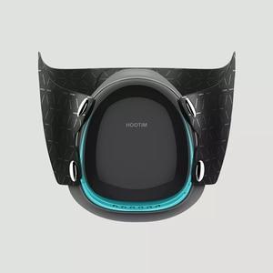 Image 4 - Youpin Hootim Elektrische Anti Waas Steriliseren Masker Biedt Actieve Air Supply Elektrische Masker Voor Herfst Winter Fog
