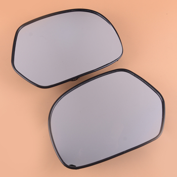 beler A Pair Motorcycle 17.5x12.2 cm Rearview Mirrors Glass Case Fit for Honda Goldwing GL1800 2001 2002 2003 2004 2005-2012