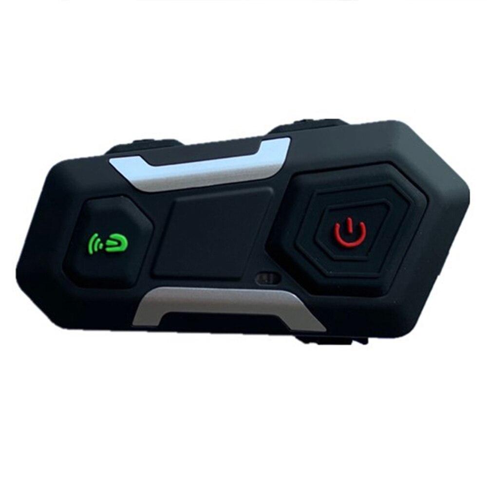 Waterproof  Motorcycle Intercom Helmet Headset Helmet Speaker Interphone Moto Headset Wireless Intercomunicador 1200M T10S