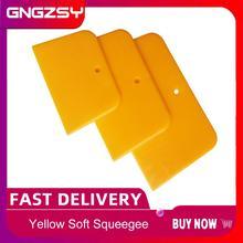 3 pz/set Vinyl Wrap Applicazione del Seccatoio Per La Pellicola Auto Adesivi Decalcomanie Angolo Decorare Raschietto per la Finestra Tinta Applicazione di A38
