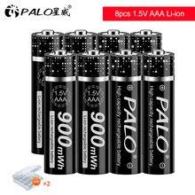 2-20 pces 1.5v bateria recarregável do li-íon do lítio aaa de alta capacidade bateria recarregável do íon de li aaa para o relógio do brinquedo mp3 da câmera
