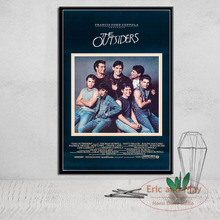 The Outsiders Classic Movie Posters And Prints Canvas Painting Wall Art Picture Vintage Poster Decorative Home Decor Tableau