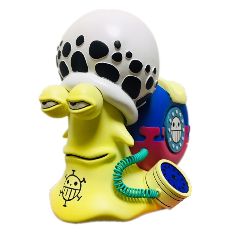 Аниме ONE PIECE Trafalgar Law Phone Insect donquixote doflamingo GK статуя ПВХ фигурка Коллекция Модель игрушки M3001