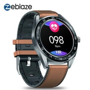 """Image 2 - Zeblaze reloj inteligente NEO para hombre, dispositivo de pulsera con pantalla IPS de 1,3 """", control del ritmo cardíaco y de la presión sanguínea, cronómetro y cámara remota"""