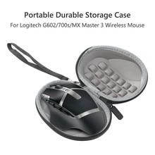Tragbare Durable Lagerung Fall für Logitech G602/700s/MX Master 3 Drahtlose Maus Tasche Harte Travel Pouch abdeckung Tasche