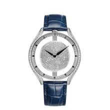 2020 New Hollow female watch white gold diamond quartz watch woman leather bracelet watches waterproof Top Brand Fashion Clock цена 2017