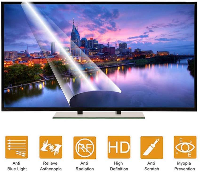 Защитная пленка для экрана Samsung UA75JU6470U, 75 дюймов, LED, 4K, ТВ, Антибликовая, с синим экраном, для широкоформатных компьютерных мониторов