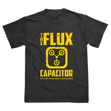 Flux Capacitor Delorean Inspired By Back To The Future Printed T-Shirt Fashion Classic Tee Tshirt(China)