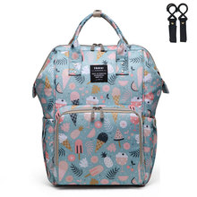 купить Hanimom Large Capacity Nappy Bag Fashion Mummy Maternity Stroller Travel Backpack Nappy Bag Waterproof Nursing Bag for Baby Care Women's Fashion Bag дешево