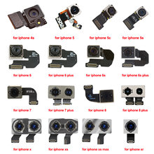 Для iphone 7 8 x 6 6s 6plus se 5s 5 5c 4s задняя камера flex