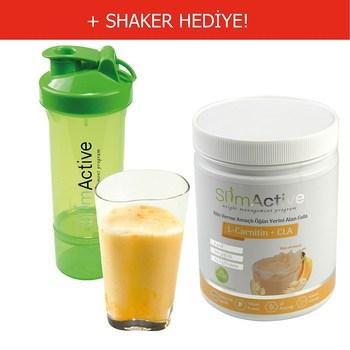 Slim Active Formula 1 zdrowy posiłek odżywczy banan 420g białka mlecznego l-carnitin CLA prebiotyczny Stevia produkt wyszczuplający tanie i dobre opinie NONE TR (pochodzenie)