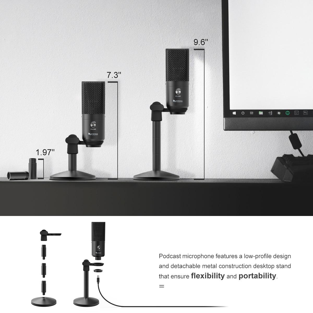 FIFINE Uni-Directional USB Microphone 15