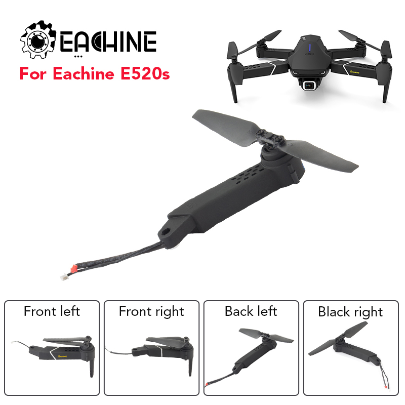 Eachine 1PCS E520S GPS RC Drone Quadcopter Spare Parts Black A Xis Arms With Motor And Propeller