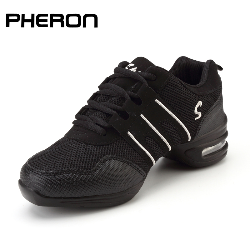 Dancing Shoes For Women Sports Feature Modern Jazz Dance Shoes Soft Outsole Breath Dance Shoes Female Waltz Sneakers Wholesale