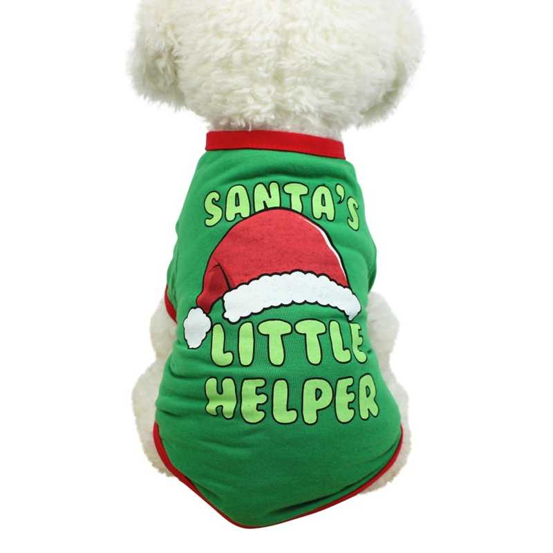 2020 New Year Dog Clothes Chihuahua Winter Dog Christmas Party Costume Pet Clothes Warm Pet Cat Coat Clothing for Dogs Coats