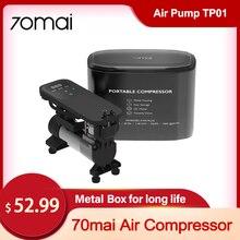 70mai – compresseur d'air électrique Portable, 12v DC, 7 bars, gonfleur numérique pour pneu de voiture, moto, vélo