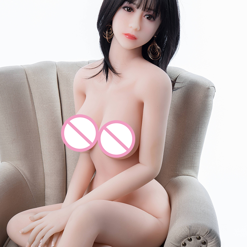 Full TPE high quality 158 cm silicone sex doll lifelike real big chest real big Yin real person anus adult sexy doll in Sex Dolls from Beauty Health