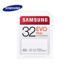سامسونج EVO Plus بطاقة الذاكرة مايكرو SD 100MBs 32GB 64GB 128GB 256GB فئة 10 UHS-I السرعة ل 4K و FHD كاميرا فيديو SDXC SDHC