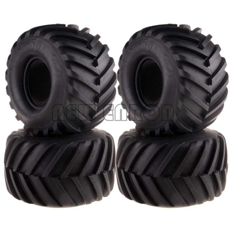 NIEUWE ENRON 4 STUKS Monster Truck 135MM Band Band 3000 Voor RC 1/10 Traxxas AXIALE TAMYIA HPI HSP RC AUTO BANDEN 1:10 BANDEN