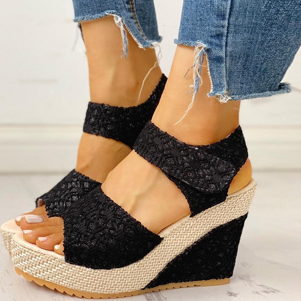 Wedges Shoes For Women Ladies Platform Heel