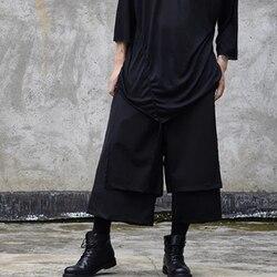 Original skirt pants original alternative style personalized fashion men's casual pants hairdresser dark department