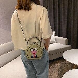 Image 4 - Nuevos bolsos de mujer moda versión coreana bolso de hombro cadena bolsa de mensajero Bolsa De mujer dulce. Bolsas de diseñador de lujo