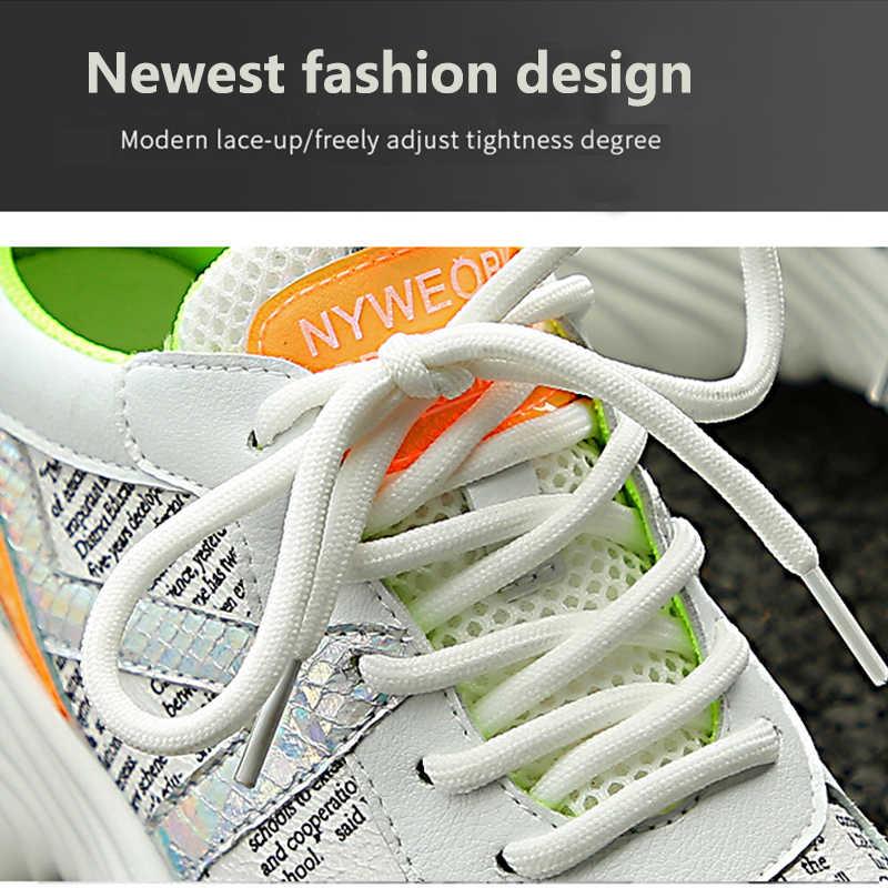 Moipheng 2019 yarım çizmeler Ayakkabı Kadın 35-42 Platformu Siyah Çorap At Kılı Ayakkabı Rahat Nefes Kadın Tıknaz Ayakkabı
