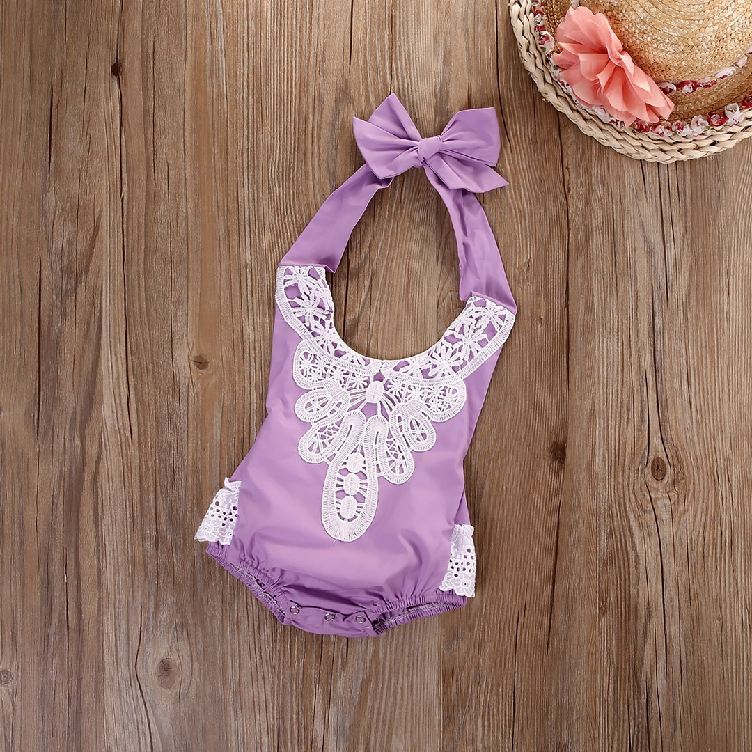 2018 New Style Baby Girls Europe And America Childrenswear Summer Hot Selling Romper Triangle Romper Baby Romper