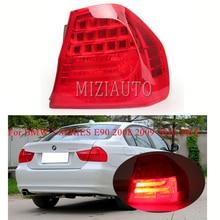 цена на MIZIAUTO Rear Tail Light For BMW 3 SERIES E90 2008 2009 2010 2011 Brake Lamp Rear Bumper Light Tail Stop Lamp Fog light