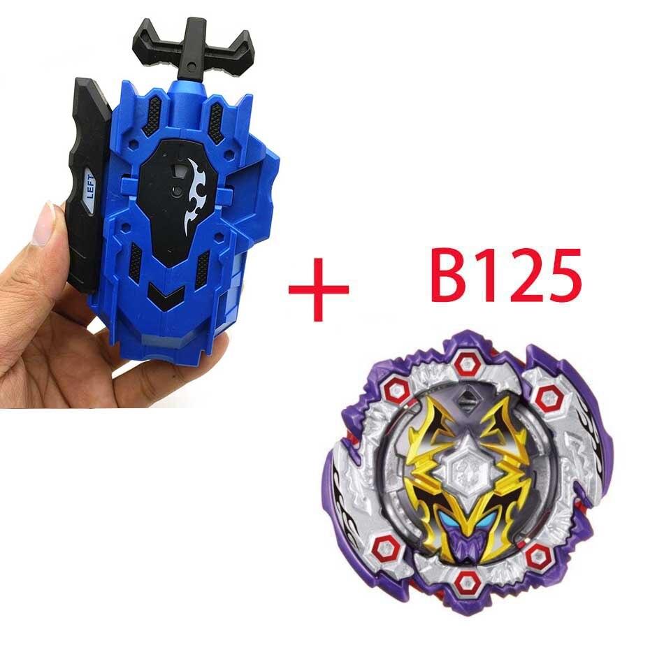 Волчок Beyblade BURST B-130 B-117 с пусковым устройством Bayblade Bay blade металл пластик Fusion 4D Подарочные игрушки для детей - Цвет: B125