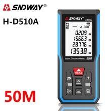 SNDWAY Portable laser rangefinder 50m hunting rangefinder digital mini rangefinder laser tape rangefinder sensor laser rangefind