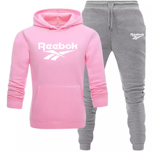 New Style Autumn And Winter Warm Hoodie Suit Fleece Sweatshirt + Casual Pants Men's And Women's Running Fitness Clothes S-3XL