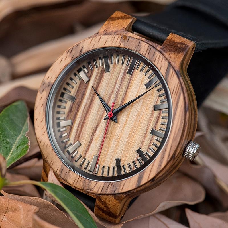 ofício da madeira do relógio da promoção
