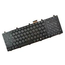 Для MSI GE60 GT60 GE70 GT70 16F4 1757 ноутбук испанская раскладка клавиатура черный SP