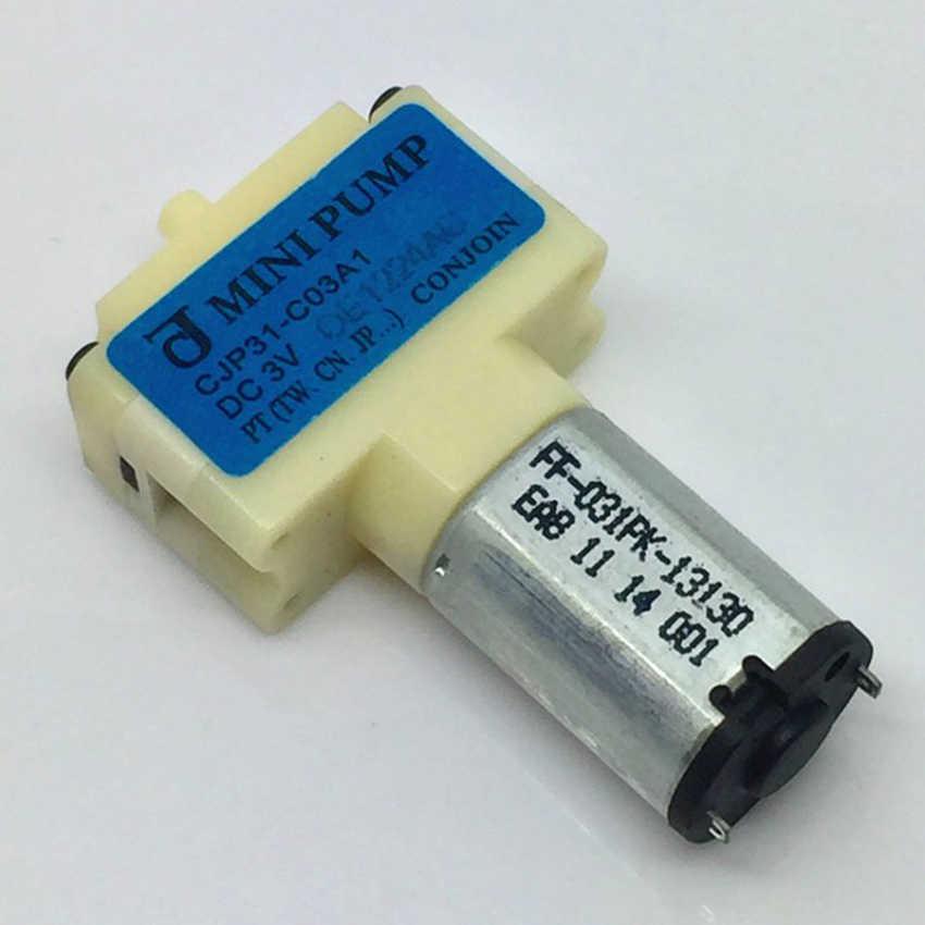 DC 3V Mini Air Pompa CJP31-C03A1 Mikro Tekanan Pompa Oksigen untuk Sphygmomanometer & Aquarium Medis, perawatan Kesehatan Perangkat