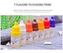 Flavor Essence Fragrance For Handmade Cosmetic Lip Gloss DIY Moisturizing Lips Safe Harmless Used By Adults And Children TSLM2