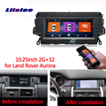 Car radio Android multimedia player For Land rover aurora discover Car touch screen GPS Navigation Support Carplay Bluetooth