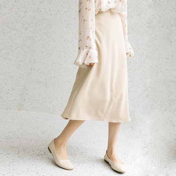 2020 Season Irregular Umbrella Pendulum Half-body Skirt Girls Long Han Fan Zhang Ulzzang Student Longuette Fashion 3