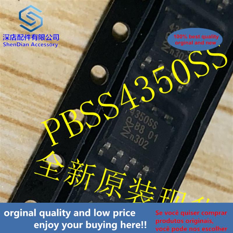 10pcs 100% Orginal And New PBSS4350SS NXP 4350SS Best Qualtiy