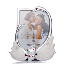 Creative Silver Swan Table Picture Frame Display for Tabletop Decorative Picture Frame Romantic Photo Frame For Lovers creative cute wooden photo frame nordic mediterranean picture frame tabletop decoration valentines day gift
