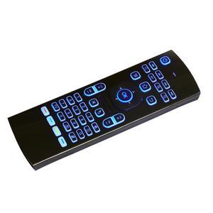 Image 5 - 2.4Ghz airmouse MX3 Air Mouse bezprzewodowa klawiatura + głos dla androida Mini PC TV Box podświetlany pilot zdalnego sterowania