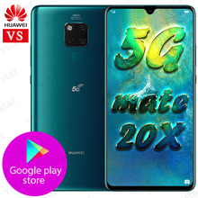 在庫huawei社メイト20 × 5グラム携帯電話balong 5000メイト20X 5グラムバージョン7.2インチ8ギガバイト256ギガバイトキリン980オクタコア40ワット過給